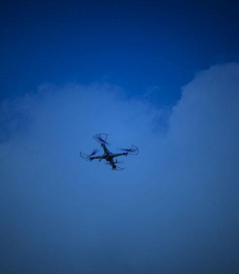 drones em eventos