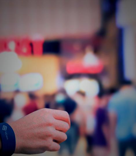 pulseiras para eventos